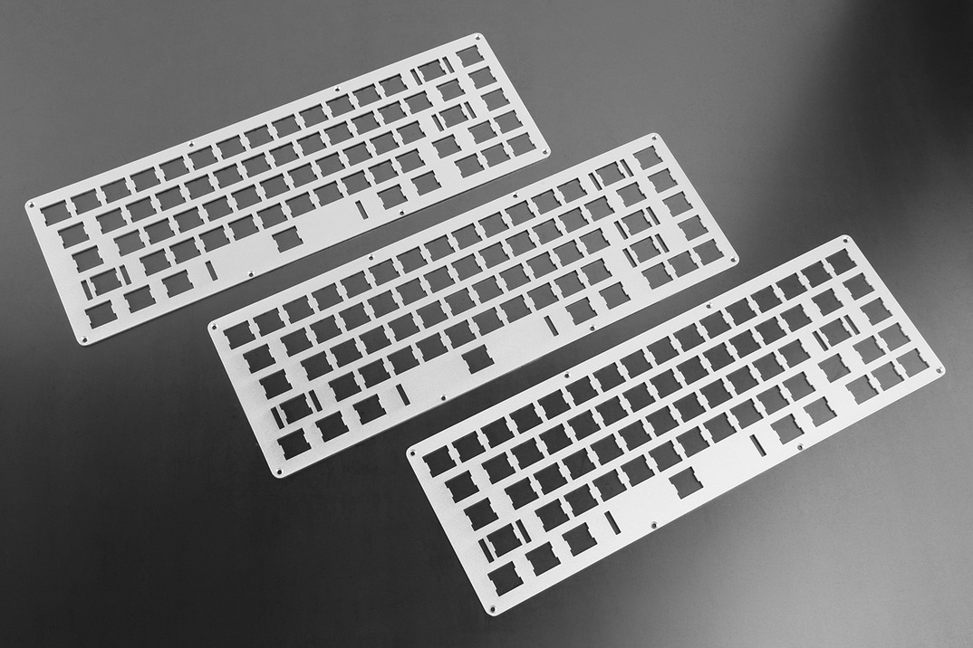 whitefox keyboard plates