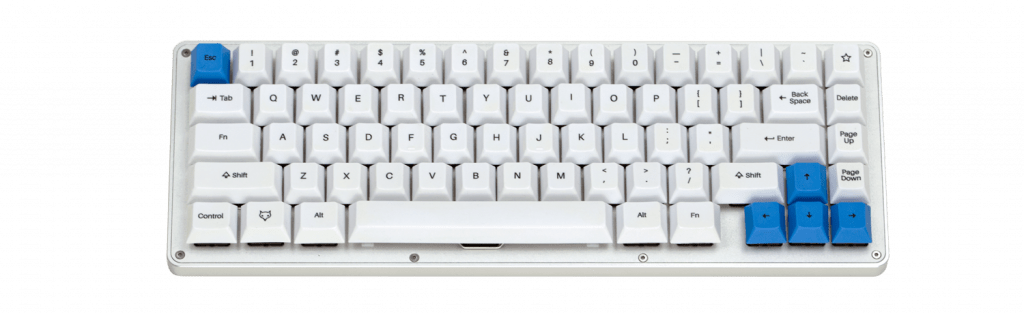 A Banner of the WhiteFox Mechanical Keyboard